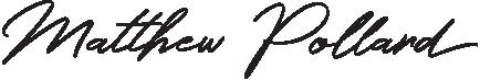 Matthew Pollard signature