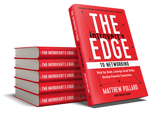 The Introvert's Edge to Networking Book Stack